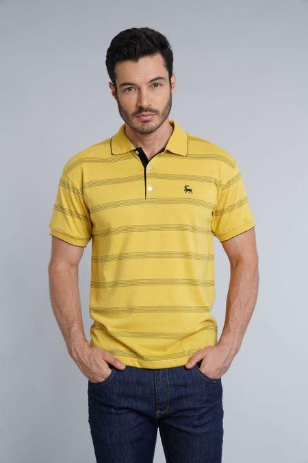 Polo para Hombre Color Amarillo Ref: 002691 - Kalor - Talla: S