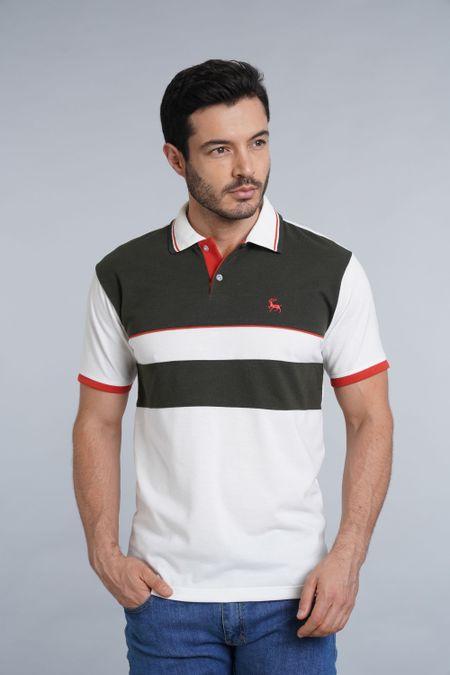 Polo para Hombre Color Marfil Ref: 002214 - Kalor - Talla: S