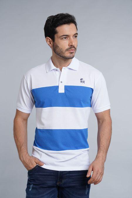 Polo para Hombre Color Blanco Ref: 102115 - Kalor - Talla: S