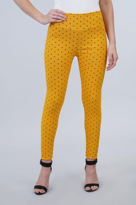 Pantalon para Mujer Color Amarillo Ref: 000424 - Confetex - Talla: 8