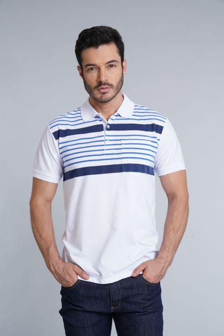 Polo para Hombre Color Blanco Ref: 002707 - Kalor - Talla: S