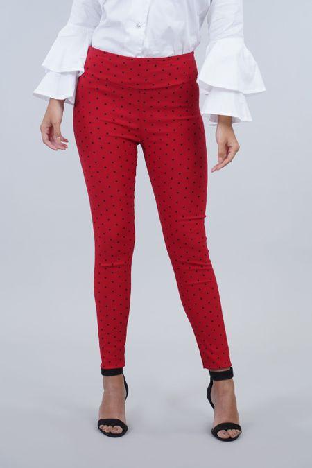 Pantalon para Mujer Color Rojo Ref: 000424 - Confetex - Talla: 10