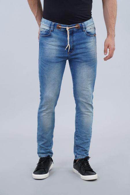 Jogger para Hombre Color Azul Ref: 103293 - E.U - Talla: 28