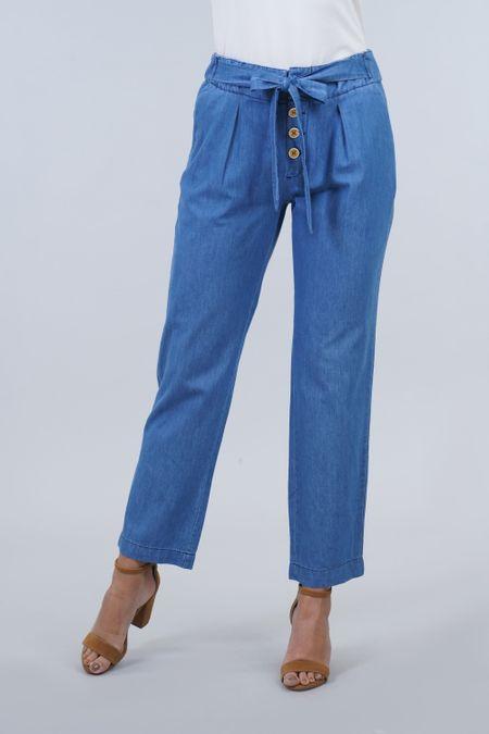 Pantalon para Mujer Color Azul Ref: 10331-2 - E.U - Talla: 10