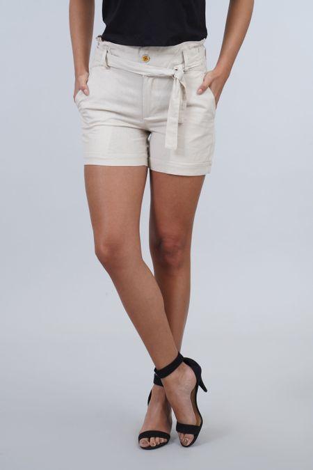 Short para Mujer Color Marfil Ref: 103348 - E.U - Talla: 12