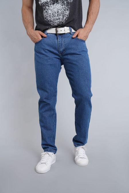 Jean para Hombre Color Azul Ref: 004003 - E.U - Talla: 30