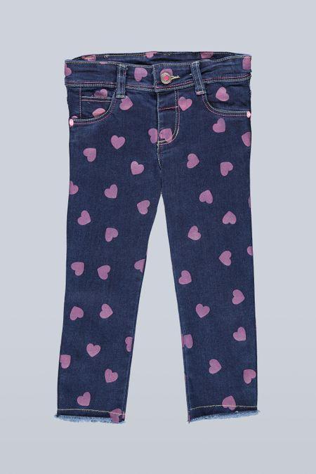 Jean para Niña Color Azul Ref: 201499 - Tex Sion - Talla: 2