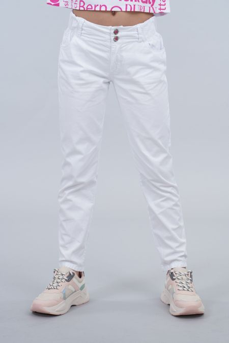 Pantalon para Teen Color Blanco Ref: 201523 - Tex Sion - Talla: 14