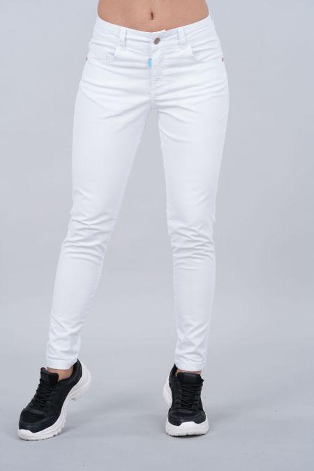 Pantalon para Rebel Color Blanco Ref: 201538 - Tex Sion - Talla: 4