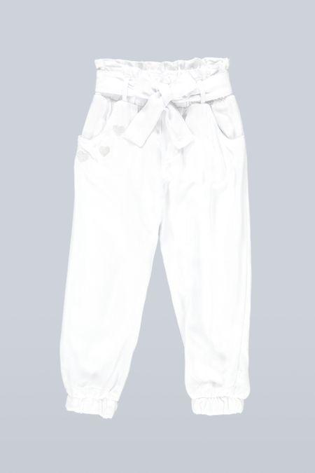 Pantalon para Niña Color Blanco Ref: 201562 - Tex Sion - Talla: 2
