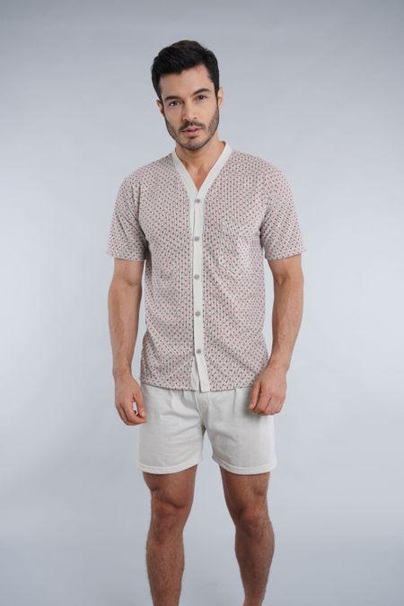 Pijama para Hombre Color Marfil Ref: 000039 - Kalor - Talla: S