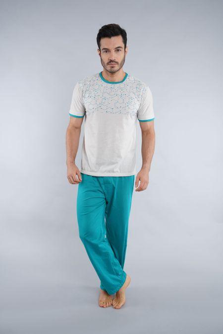 Pijama para Hombre Color Marfil Ref: 001683 - Kalor - Talla: S