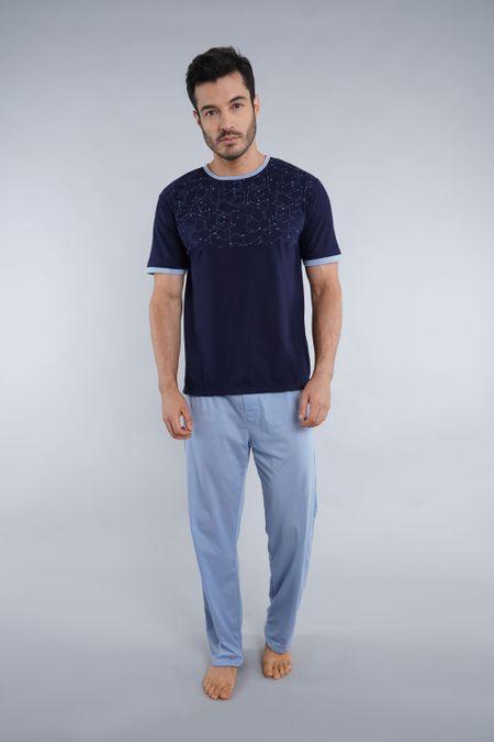 Pijama para Hombre Color Azul Ref: 001683 - Kalor - Talla: S