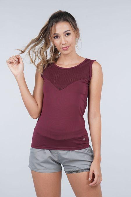 Blusa para Mujer Color Vinotinto Ref: 103067 - Weekly - Talla: S
