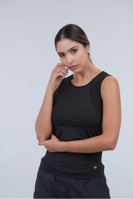 Blusa para Mujer Color Negro Ref: 103068 - Weekly - Talla: L