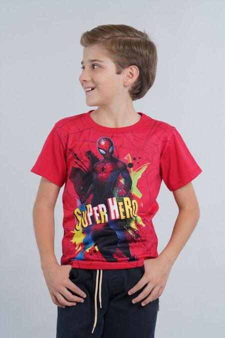 Camiseta para Niño Color Rojo Ref: 203235 - Confetex - Talla: 6
