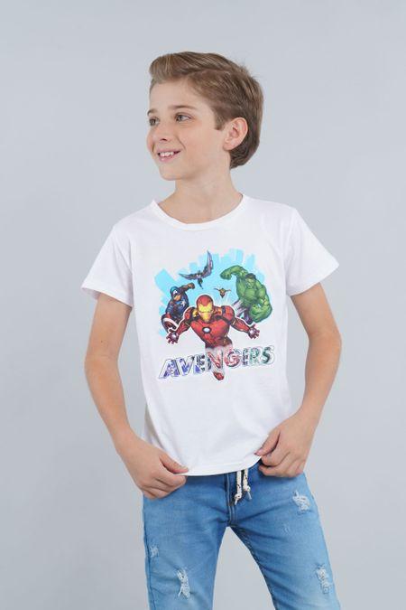 Camiseta para Niño Color Blanco Ref: 203233 - CCU - Talla: 4