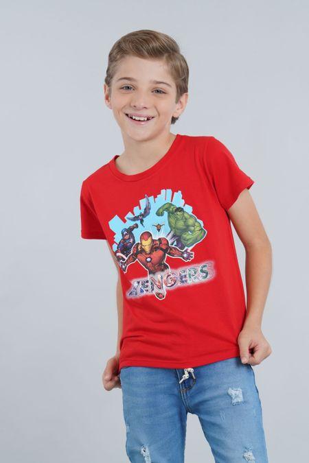 Camiseta para Niño Color Rojo Ref: 203233 - CCU - Talla: 4