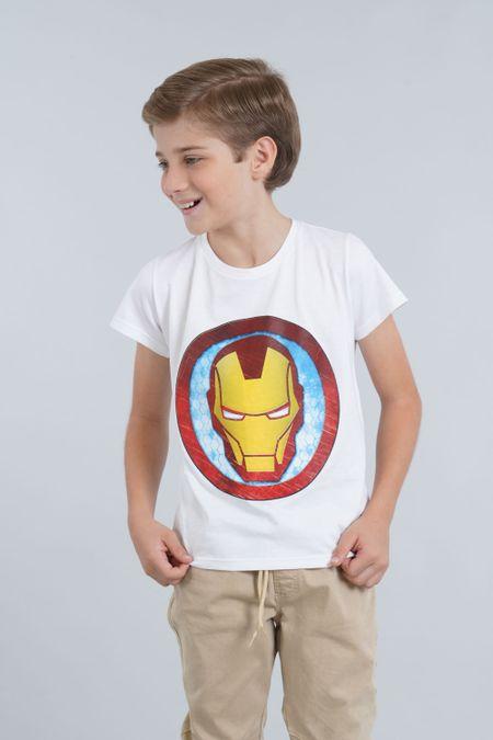 Camiseta para Niño Color Blanco Ref: 203270 - CCU - Talla: 6