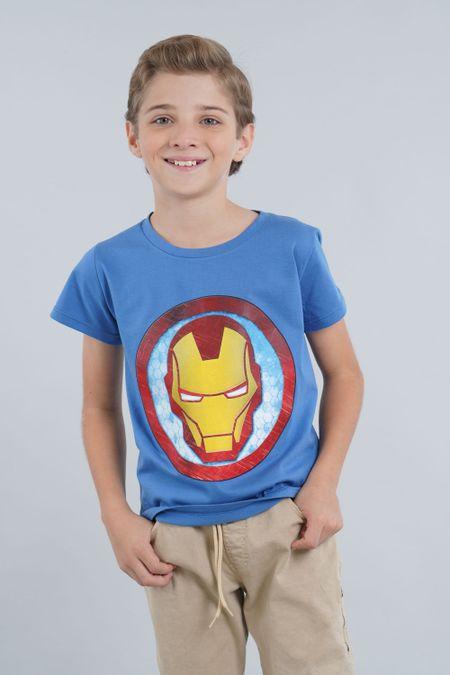 Camiseta para Niño Color Azul Ref: 203270 - CCU - Talla: 6