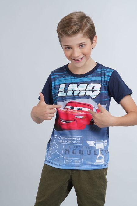 Camiseta para Niño Color Azul Ref: 103793 - Confetex - Talla: 4