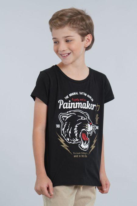 Camiseta para Niño Color Negro Ref: 030154 - CCU - Talla: 6