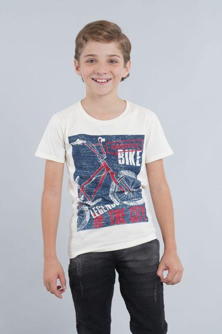 Camiseta para Niño Color Marfil Ref: 030033 - CCU - Talla: 6