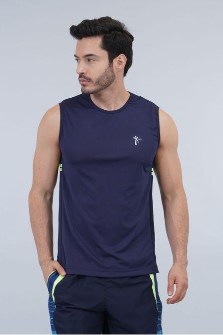 Camiseta para Hombre Color Azul Ref: 008351 - Nki - Talla: XL