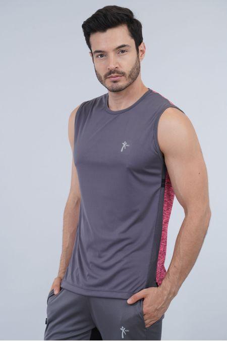Camiseta para Hombre Color Gris Ref: 008351 - Nki - Talla: M