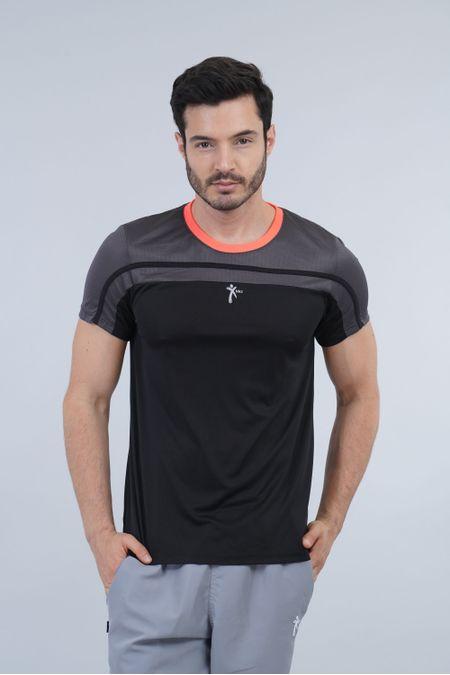 Camiseta para Hombre Color Negro Ref: 008375 - Nki - Talla: XL