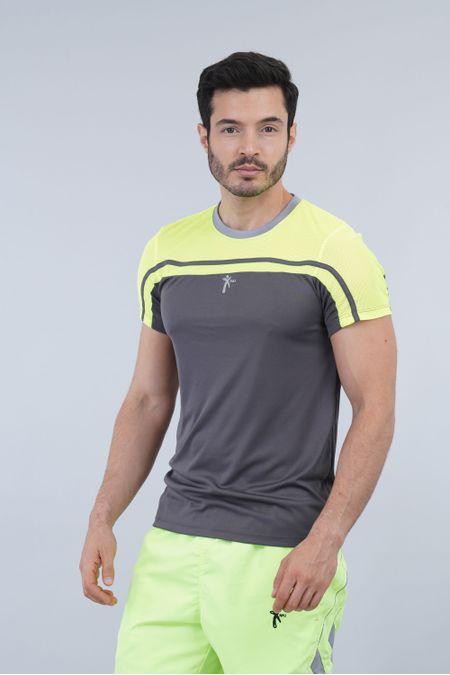 Camiseta para Hombre Color Gris Ref: 008375 - Nki - Talla: S