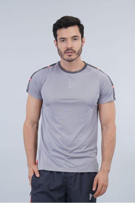 Camiseta para Hombre Color Gris Ref: 008377 - Nki - Talla: S