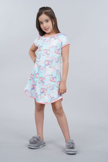 Pijama para Niña Color Verde Ref: 001524 - Ambil - Talla: 2