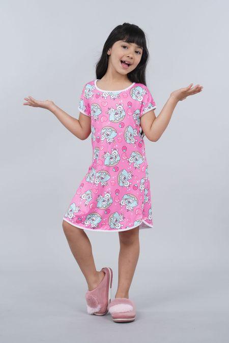 Pijama para Niña Color Fucsia Ref: 001527 - Ambil - Talla: 2
