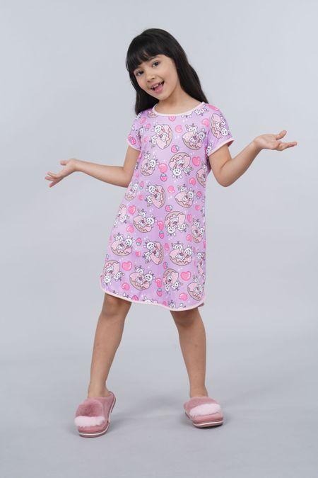 Pijama para Niña Color Morado Ref: 001527 - Ambil - Talla: 2