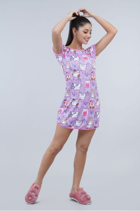 Pijama para Mujer Color Morado Ref: 002305 - Ambil - Talla: S
