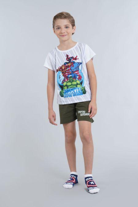Pijama para Niño Color Blanco Ref: 205068 - Confetex - Talla: 6