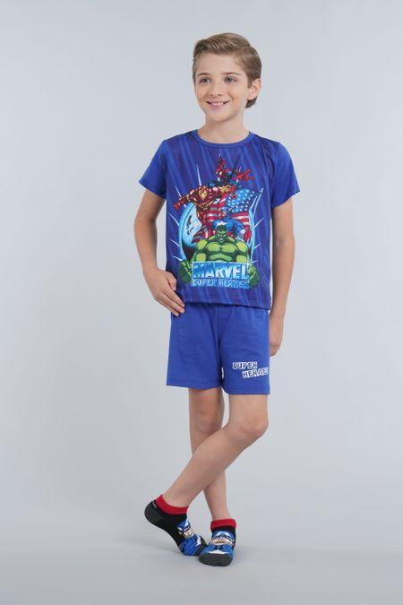 Pijama para Niño Color Azul Ref: 205068 - Confetex - Talla: 6