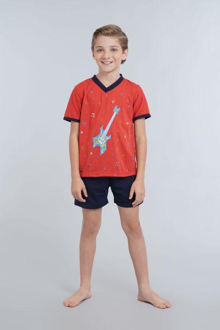 Pijama para Niño Color Terracota Ref: 001684 - Kalor - Talla: 2