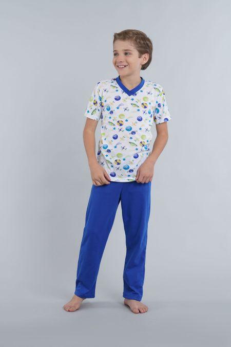 Pijama para Niño Color Blanco Ref: 000037 - Kalor - Talla: 2