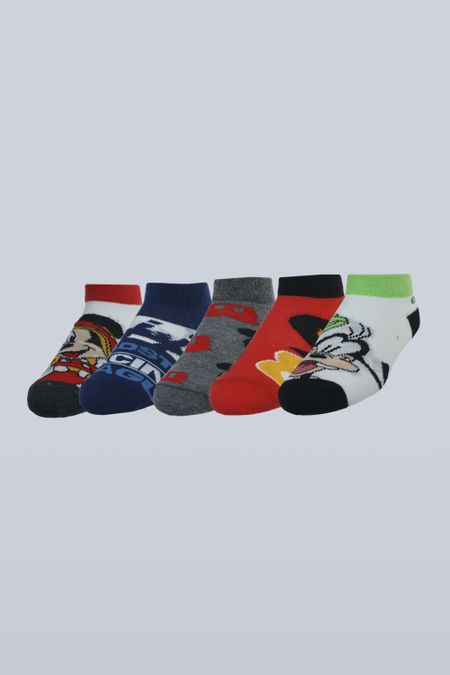 Pack x 5 Medias para Niño Color Surtido Ref: 104097 - Support - Talla: 9-11
