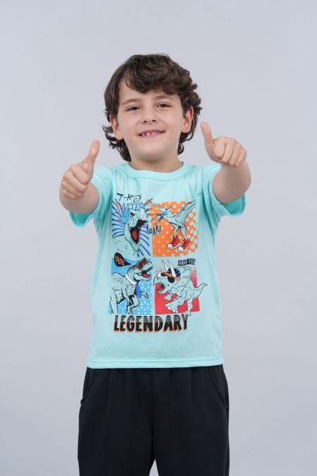 Pack x 2 Camiseta para Niño Color Surtido Ref: B15079 - Ambil - Talla: 2