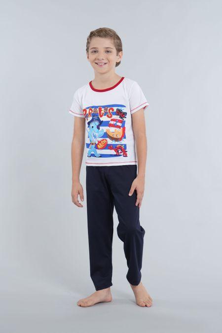 Pijama para Niño Color Azul Ref: 030165 - CCU - Talla: 6
