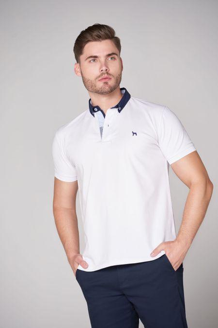 Polo para Hombre Color Blanco Ref: 103229 - E.U - Talla: S