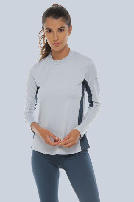 Camiseta para Mujer Color Gris Ref: 096999 - Racketball - Talla: XL