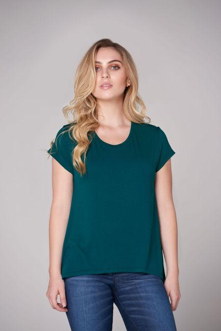 Blusa para Mujer Color Verde Ref: 023008 - CCU - Talla: S
