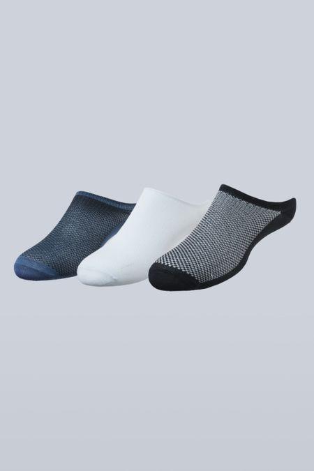 Pack x 3 Medias para Hombre Color Surtido Ref: 00D100 - Calcetex - Talla: 10-12