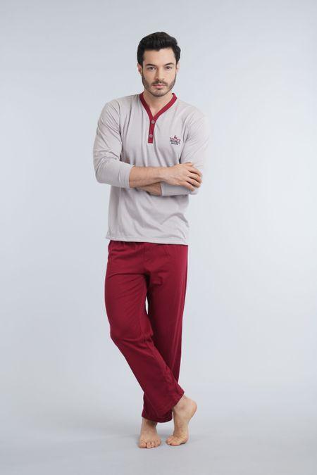 Pijama para Hombre Color Marfil Ref: 003005 - Kalor - Talla: S
