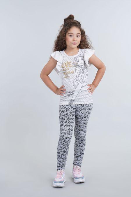 Blusa para Niña Color Gris Ref: 033015 - Confetex - Talla: 4