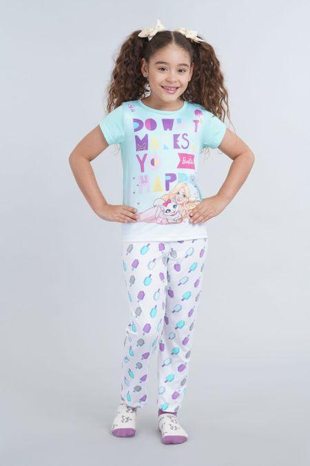 Pijama para Niña Color Verde Ref: 034004 - Confetex - Talla: 4